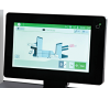 "10"" color touchscreen with paper and presence sensors"