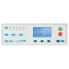 User-friendly control panel with LCD screen and LED indicators