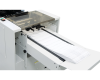 """24"""" outfeed conveyor helps keep forms in a neat order after processing"""