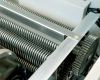 Solid-steel gears and powerful AC geared motor