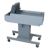 Adjustable-height stand on casters. Optional for tabletop folders and pressure sealers / required for use with FD 2094/2084 and 2200 Series